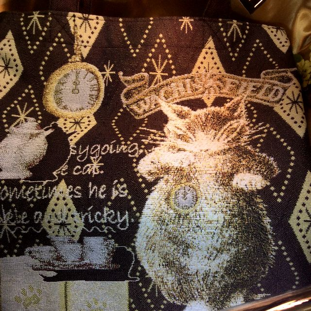 池田あきこ先生のわちふぃーるどダヤンのトートバッグ石の回廊の全体写真