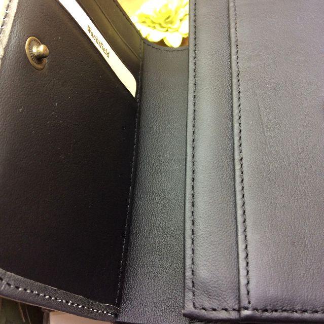 池田あきこ先生のわちふぃーるどダヤンのアート二つ折り財布天球開けたところのアップ写真